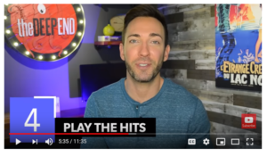 Play the hits - email marketing 2019